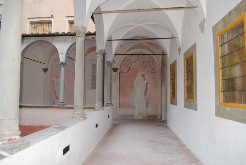 3 Il Chiostro dopo il restauro low©CertosadiCalci-MiBACT