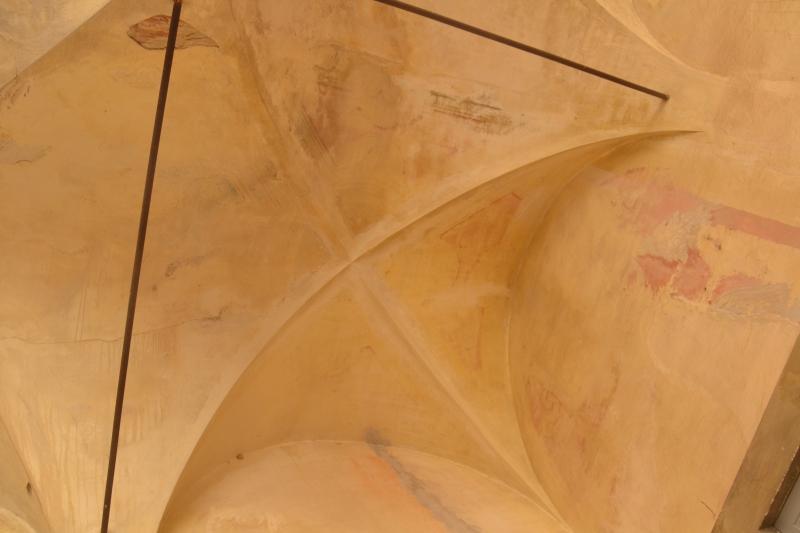 Il Chiostro prima del restauro 2 ©CertosadiCalci-MiBACT