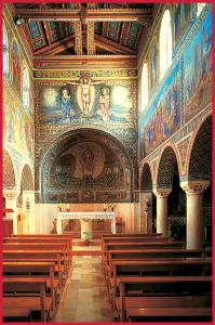 Interno della Chiesa di Santo Stefano a Bet Gemal (foto  gentilmente concessa da Don Mario Scudu)