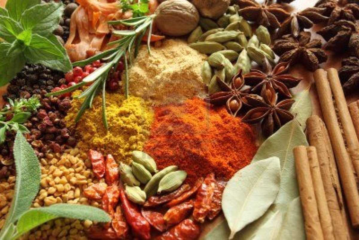 Herbs-And-Spices-Aromatic-Ingredients-Wallpapers