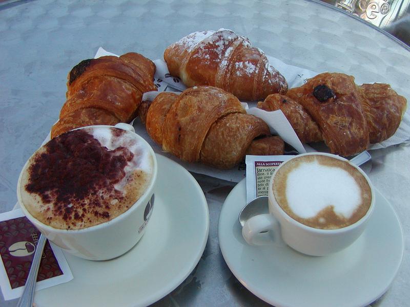 Inizio e colazione for Buongiorno con colazione