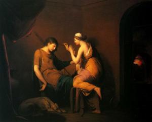 J.Wright, The corinthian maid, 1782-1784