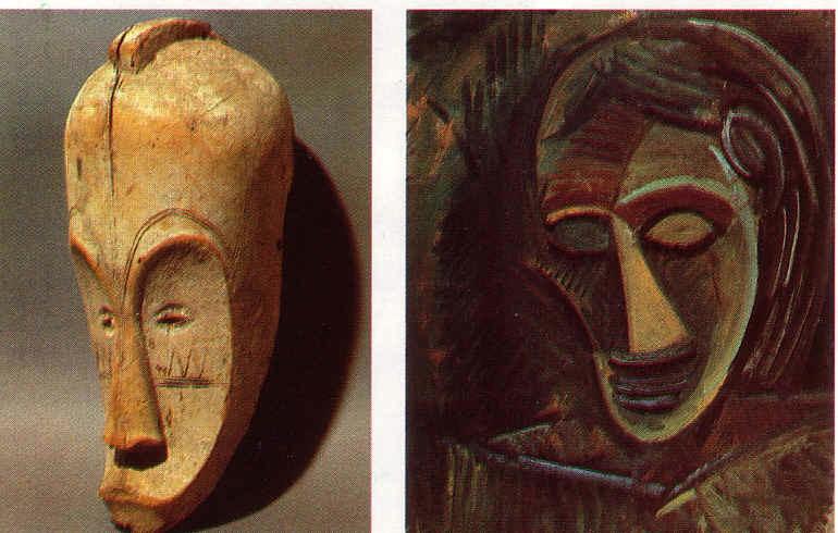 Eccezionale Maschere nell'arte novecentesca GQ99