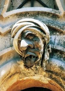 Palazzo Bertini, dettaglio, il povero