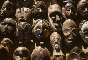 maschere africane