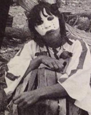 La maschera di Iben Nagel Rasmussen