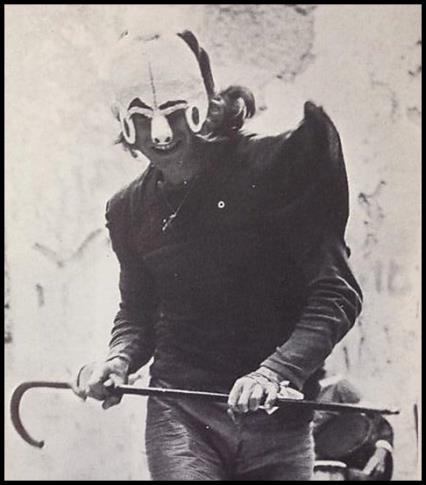 La maschera di Torgeir Whetal