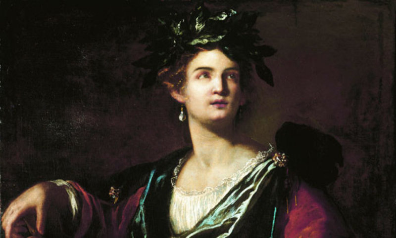 Artemisia Gentileschi - Clio - Palazzo Blu00