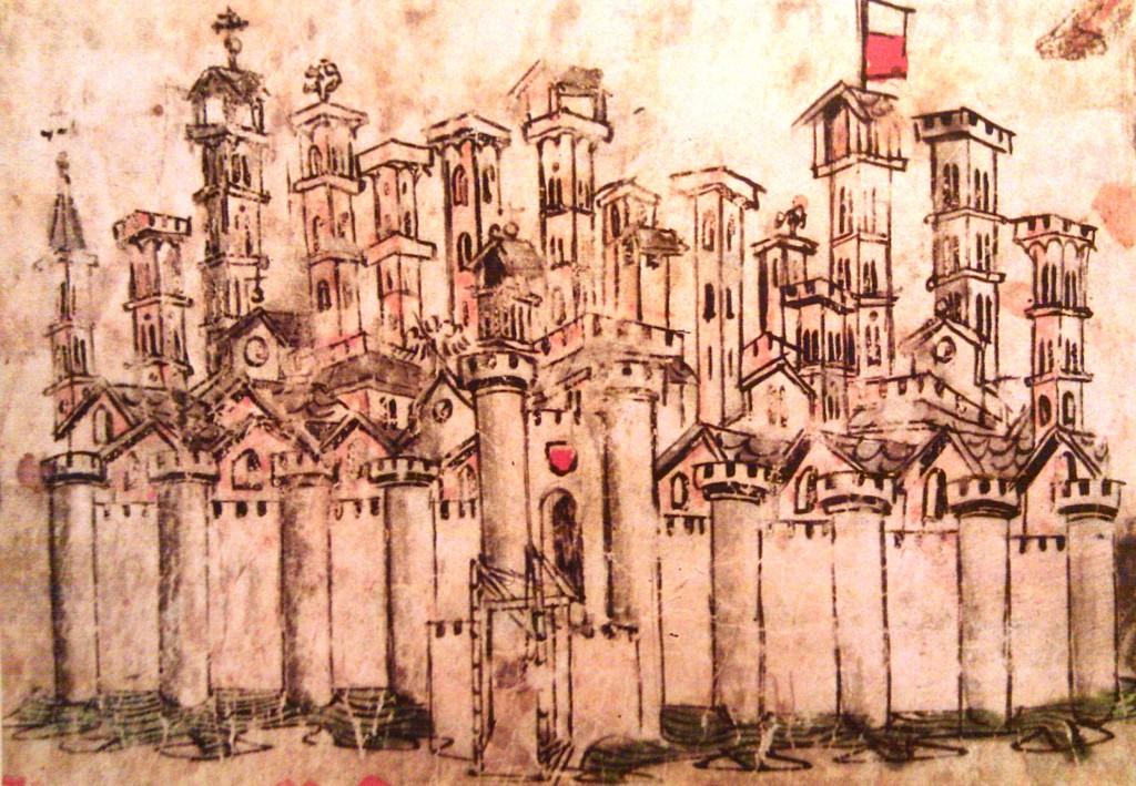 Lucca, Mura medievali