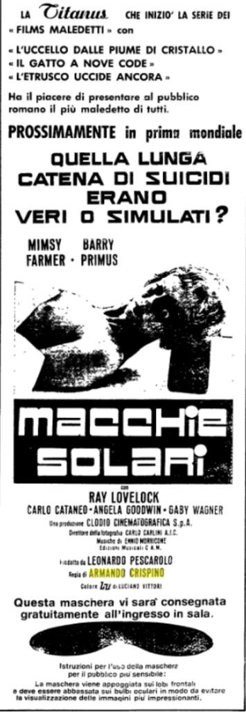 macchie solari flano