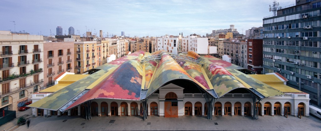 Mercato di Santa Caterina, Barcellona.