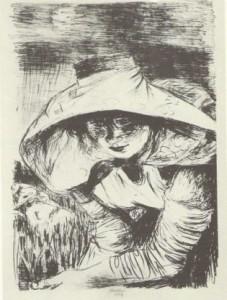Gabriele Mucchi, Mondine di Sannazzaro (1954), litografie.1