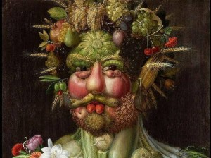 """Vertumnus"", Aricmboldo, 1591"
