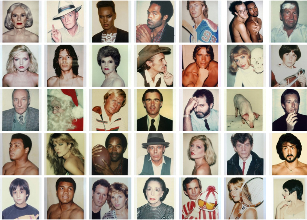 Andy Warhol, Polaroid