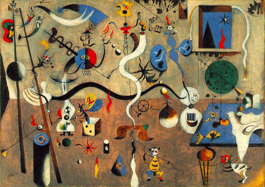 Joan Miró, Il Carnevale di Arlecchino, 1924-1925