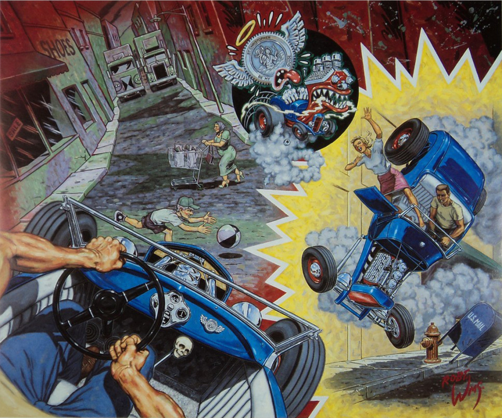 Robert Williams, A White Knuckle Ride for Lucky St. Christopher, 1992