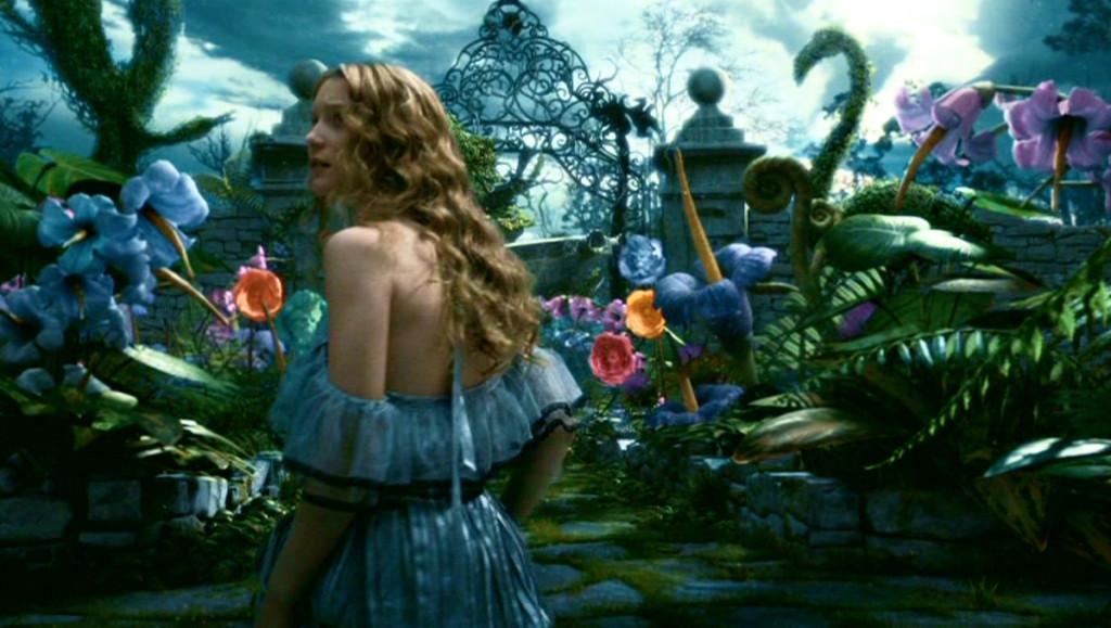 Tim Burton (regia di), Alice in Wonderland, 2010