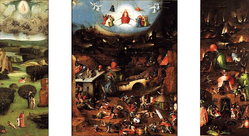 Il Giudizio Universale, Vienna, Gemäldegalerie.