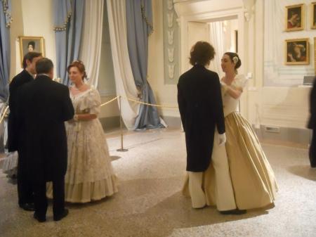 Palazzo Blu, scena rievocativa di un ballo dell'Ottocento. Circolo Pisano della Società di Danza, 2012