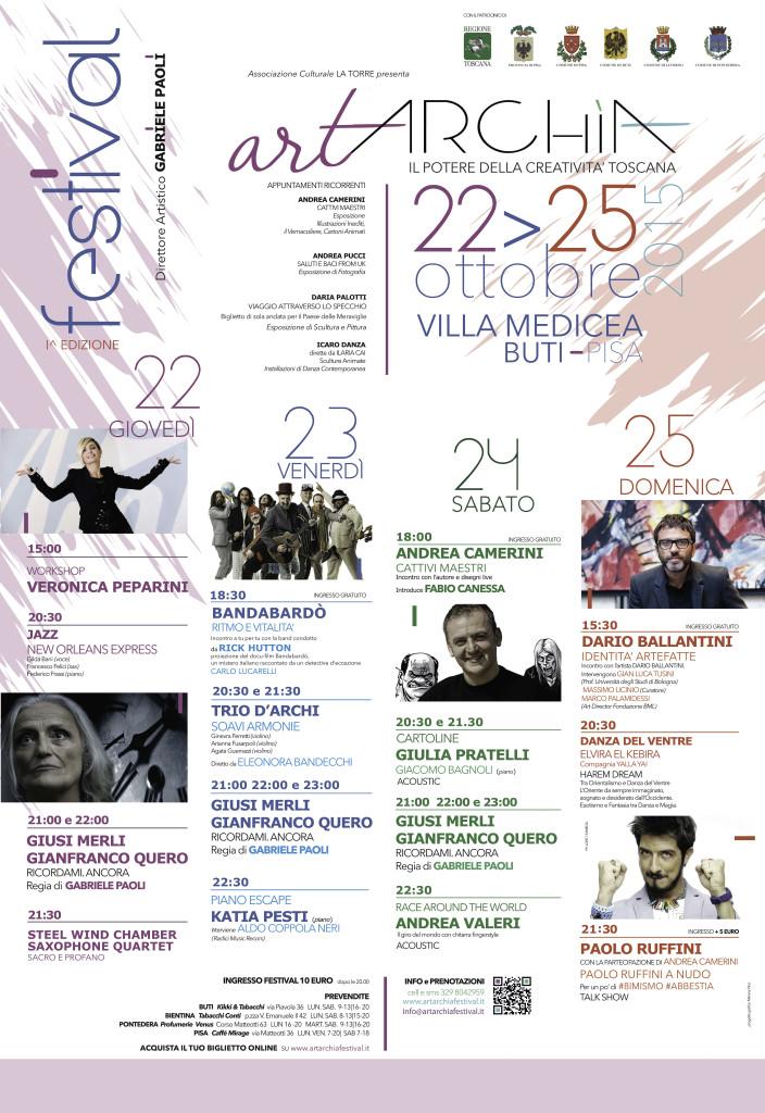 locandina Artarchia Festival