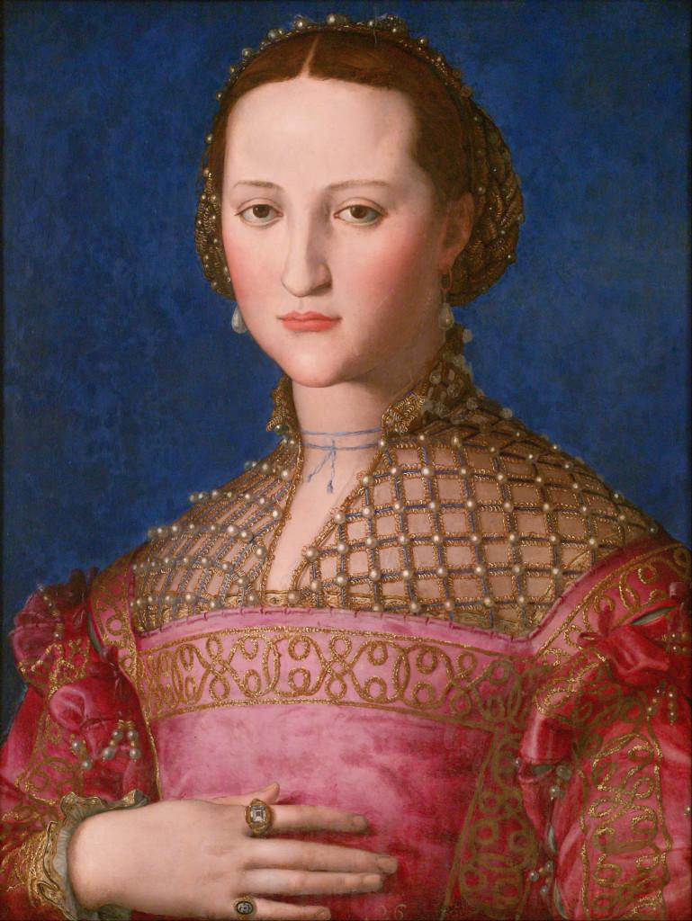 A. Bronzino, ritratto di Granduchessa