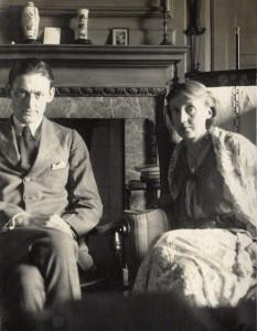 T.S. Eliot e Virginia Woolf