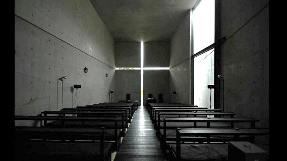 Tadao Ando, Chiesa della Luce (Osaka, 1989)