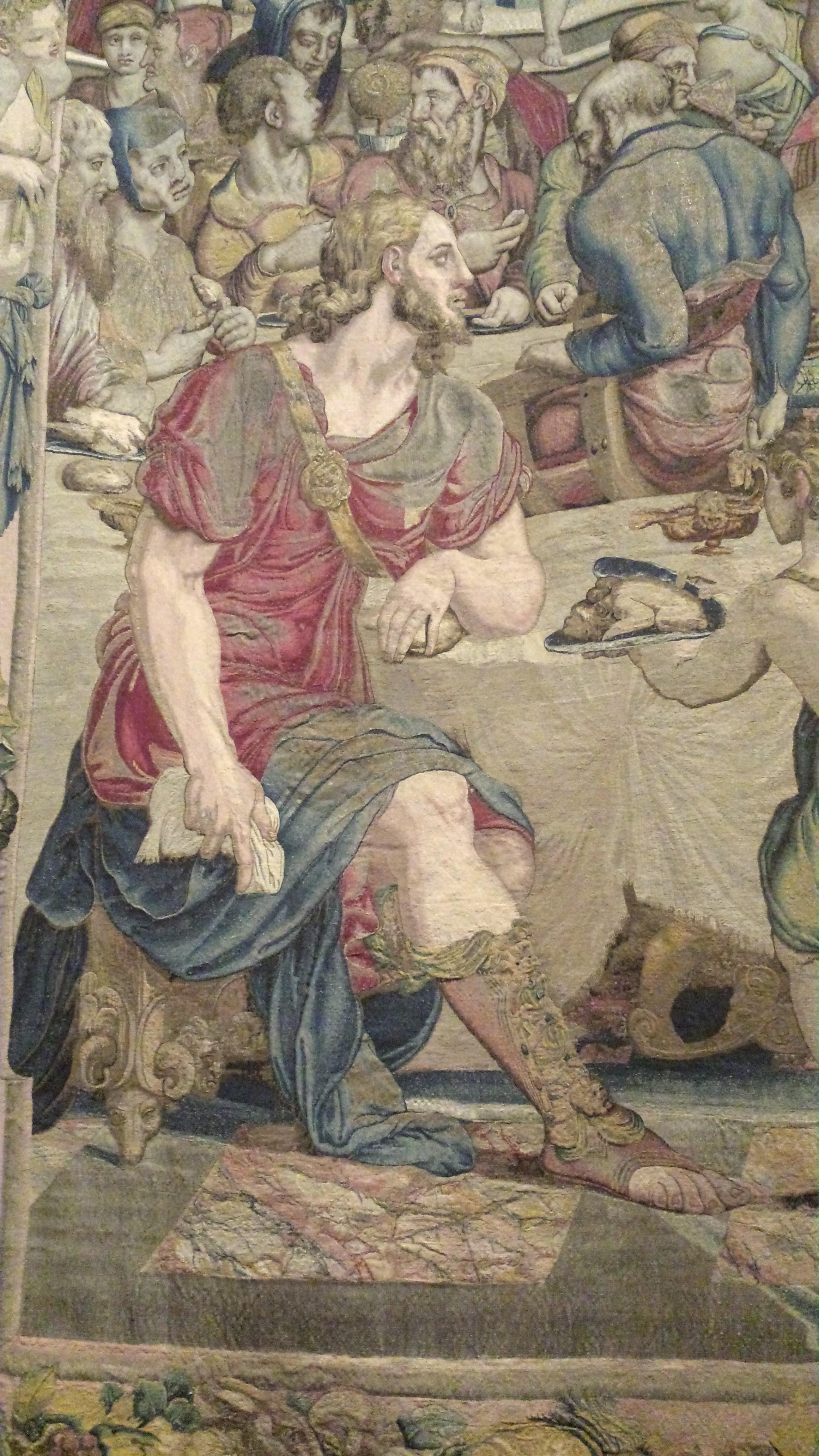 mostra arazzi a Palazzo Vecchio