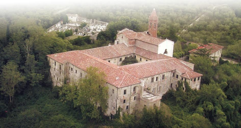 Visione dall'alto del convento di Nicosia