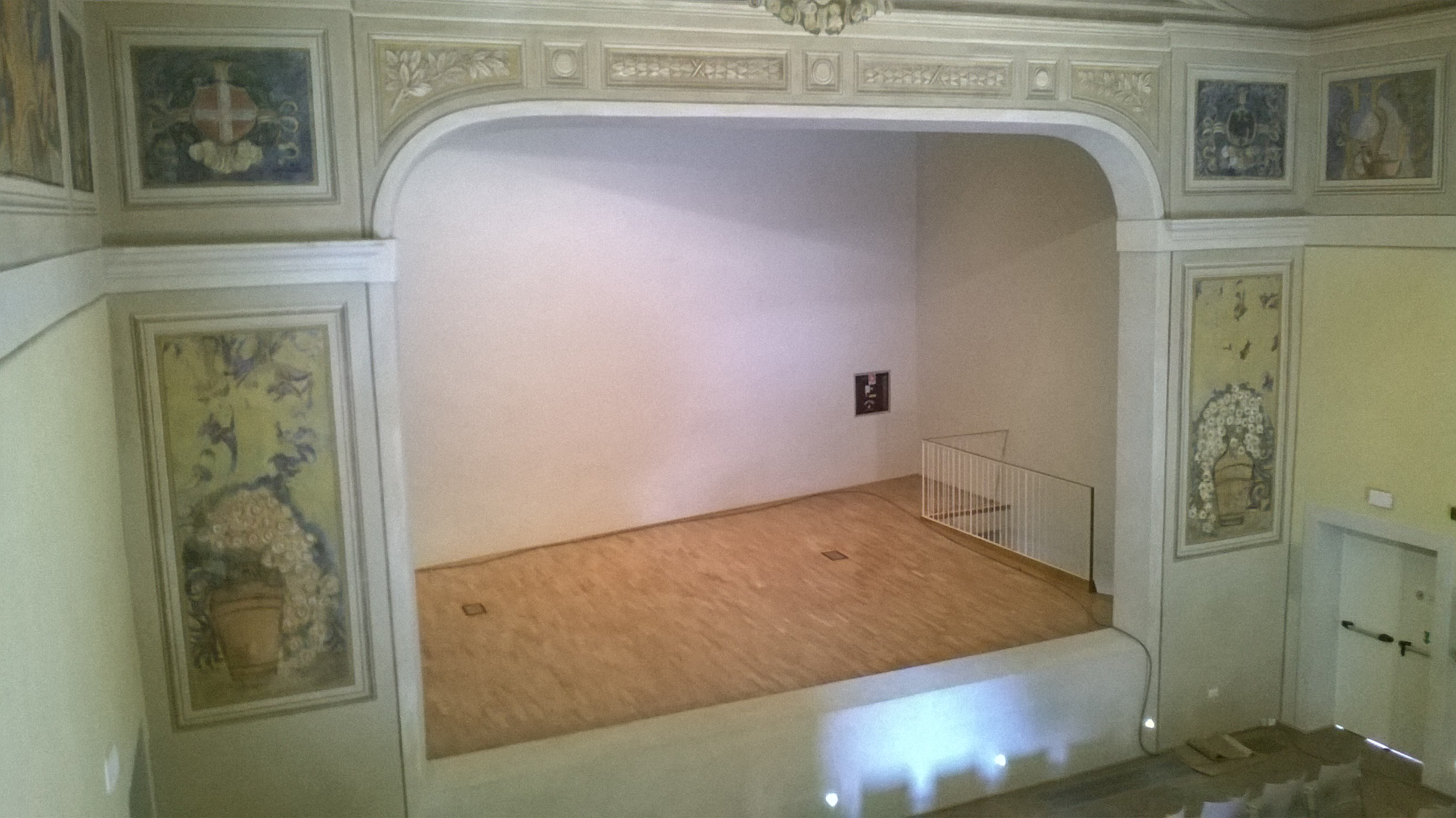 Teatro di via Verdi, palco