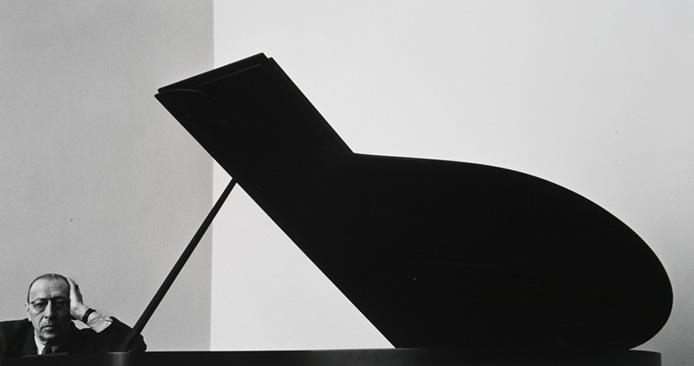 Igor Stravinsky, New York, NY, 1960, © Arnold Newman