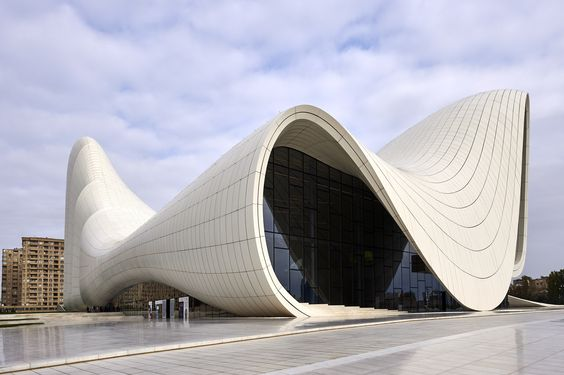 Z.Hadid, Heydar Aliyev Center, Baku