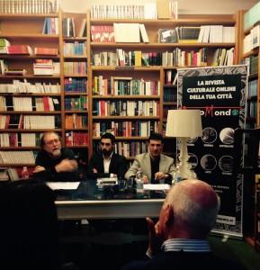 Un momento della presentazione: da sinistra Miorandi, Di Nardo e Tocci