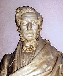 Busto di Ippolito Rosellini conservato al Museo Archeologico di Firenze