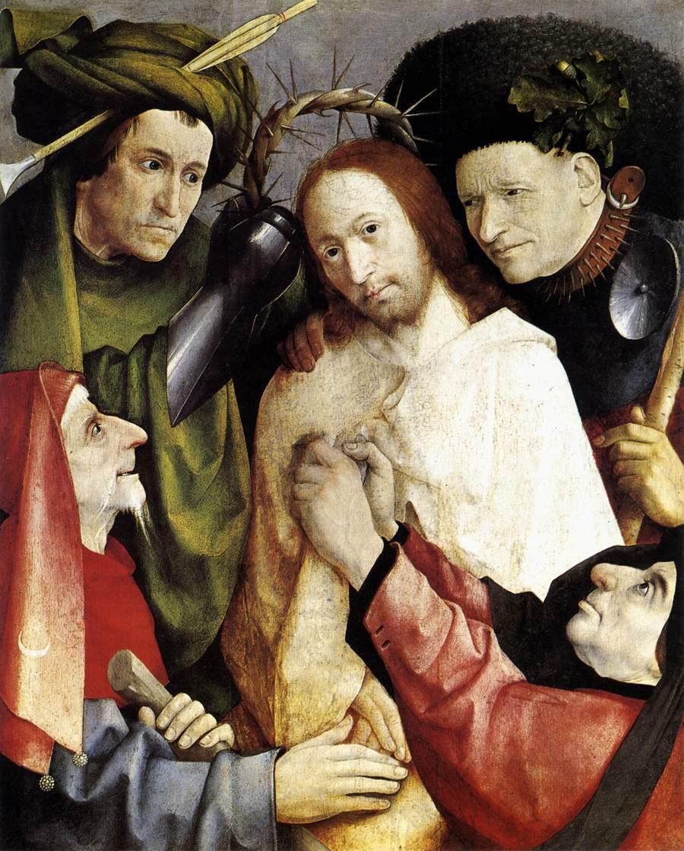 Bosch, L'incoronazione di spine (1485)