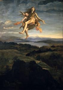 Lanfranco, Santa Maria Maddalena portata in cielo dagli angeli (1616-18)