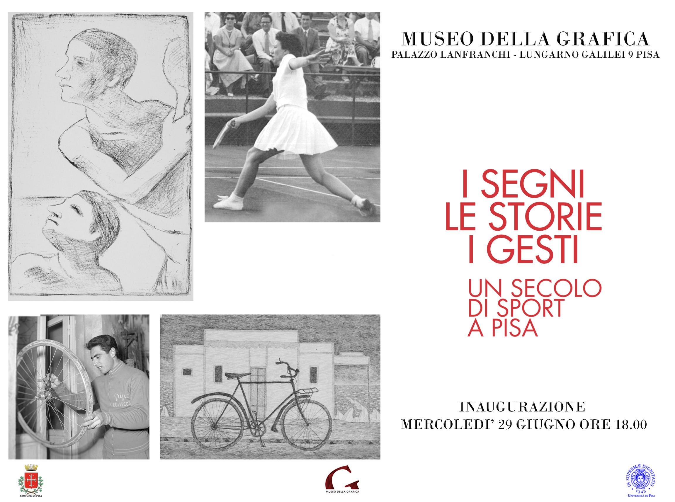 invito Un secolo di sport a Pisa