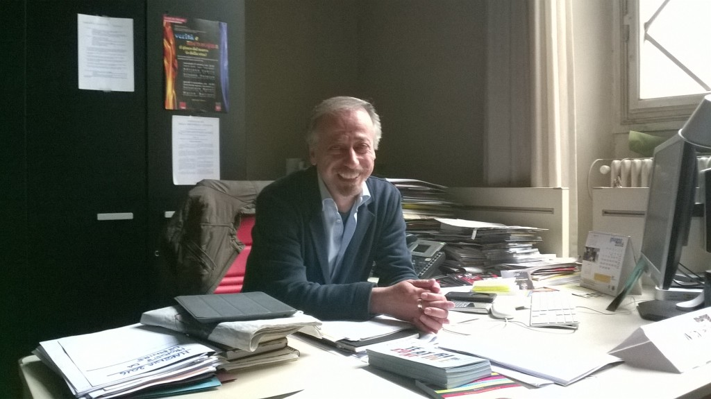Silvano Patacca nel suo ufficio