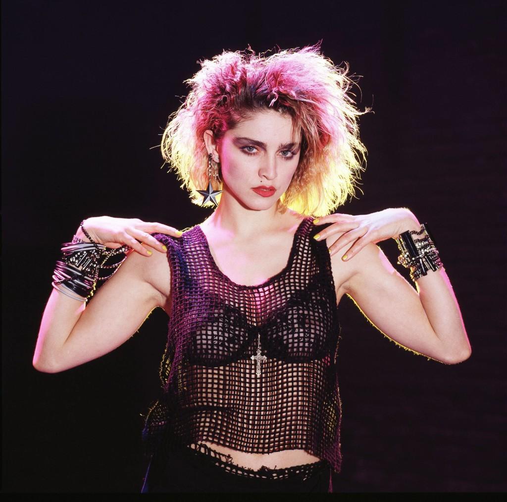 Madonna nel 1982