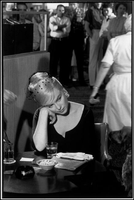 US actress Marilyn MONROE.