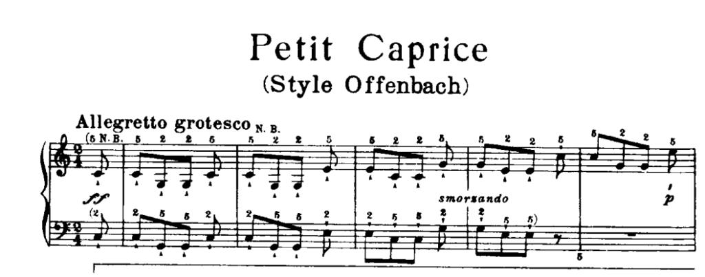 Rossini Caprice