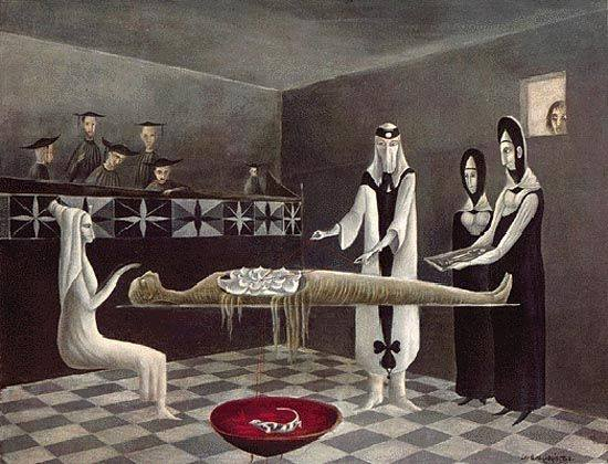 Leonora Carrington - Adieu Amenhotep, 1955