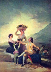 Cartone d'arazzo di Goya, La vendemmia, 1786