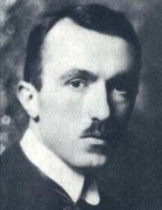 Carlo Emilio Gadda nel 1921.