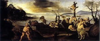 Piero di Cosimo, ritorno dalla caccia