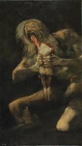 Francisco Goya: Saturno che divora i suoi figli