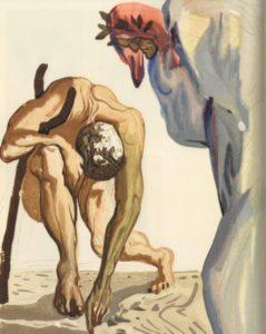 I prìncipi della valletta fiorita, Purgatorio, vol.I, canto VII, Figueres, Fundaciò Gala-Salvator Dalì