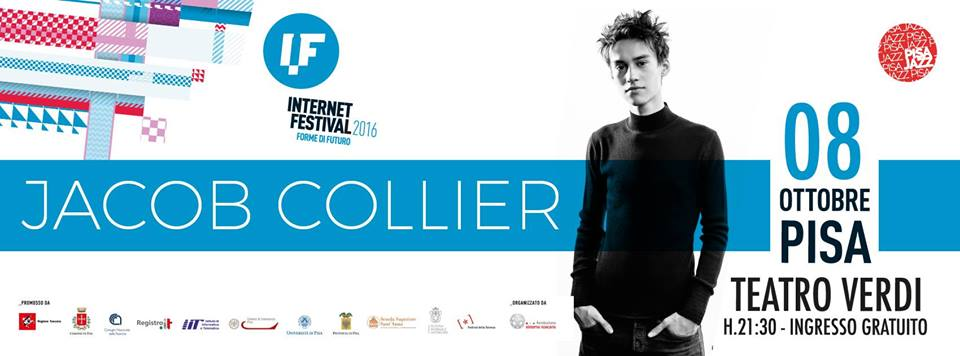 Jacob Collier. Fonte: Internet Festival