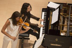 Viktoria Mullova (violino) e Katia Labèque (pianoforte)