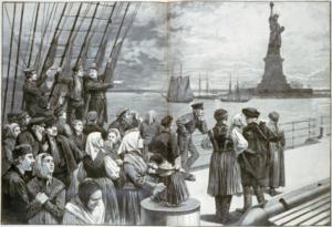 emigrantiEmigranti in arrivo a New York